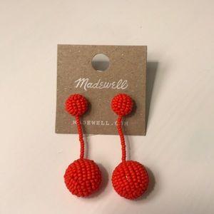 Madewell beaded earrings